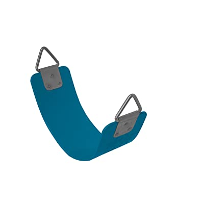 American Swing Blue Strap Seat w/triangle Hardware Commerical or Residential: Toys & Games
