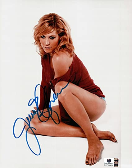 Jenna Elfman Hand Signed Autographed 8x10 Photo Dharma And Greg Sexy Ga769403