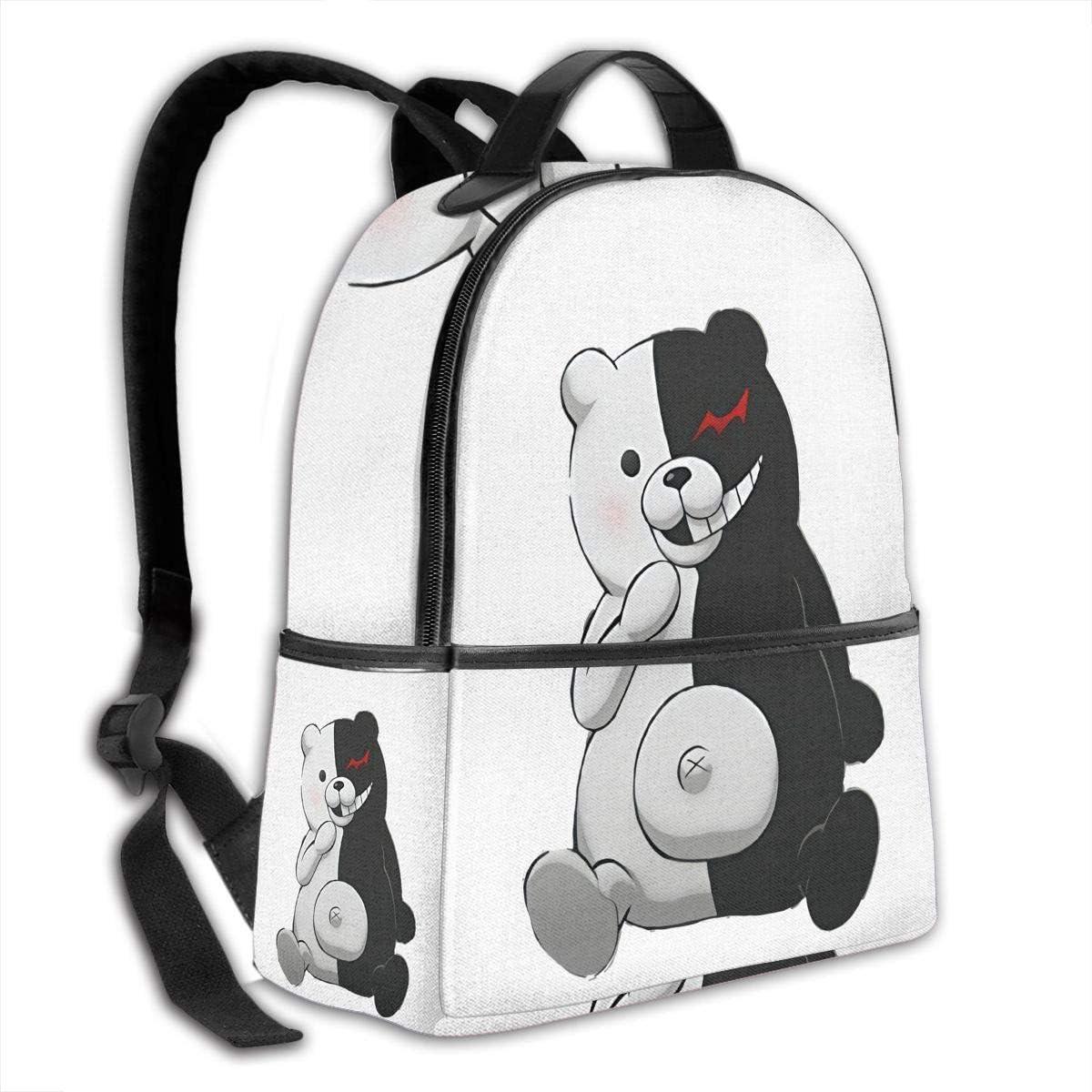 Dan-ganron=pa Laptop Backpack Fashion Theme School Backpack