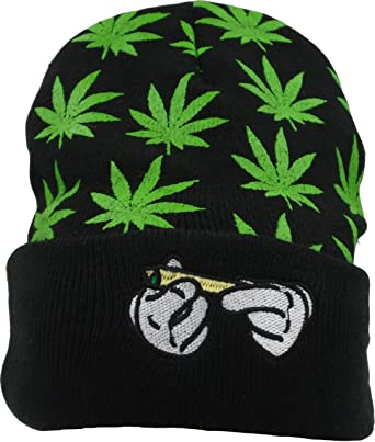 Ruin Green Weeds Fashion Knitting Hat for Men Women 100/% Acrylic Acid Mas Beanie Hat