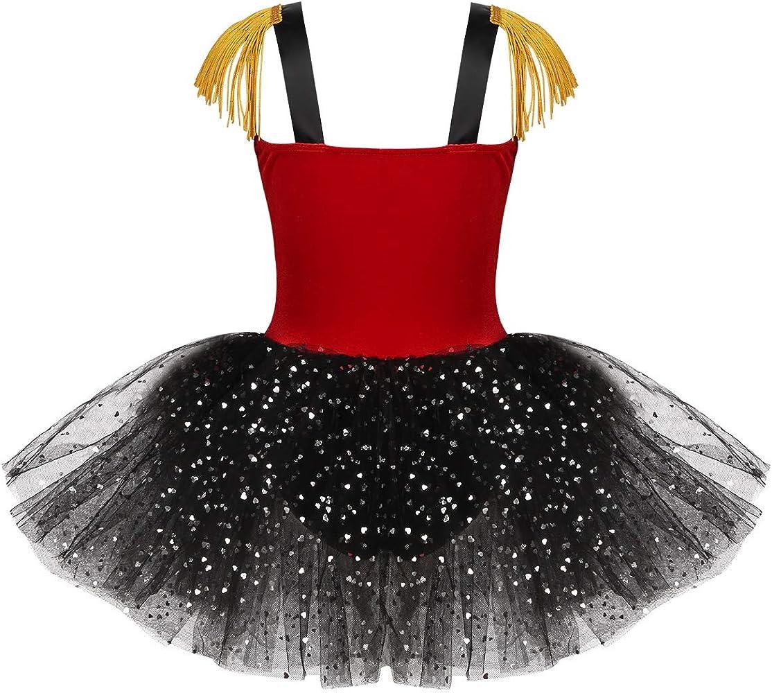 Freebily Disfraz Niña Halloween de Circo Maestro de Ceremonias ...