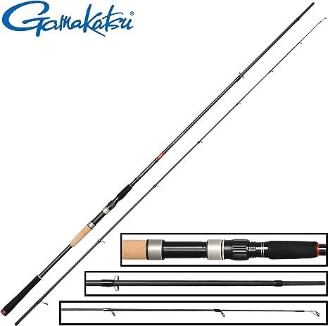 Gamakatsu akilas 80 x XXH 2,40 m, 50 – 100 g – Caña de pescar para ...