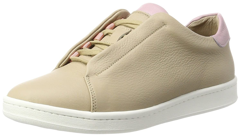 Brax Damen Castania Low Sneaker 703636 03, Beige (taupe combi), 37