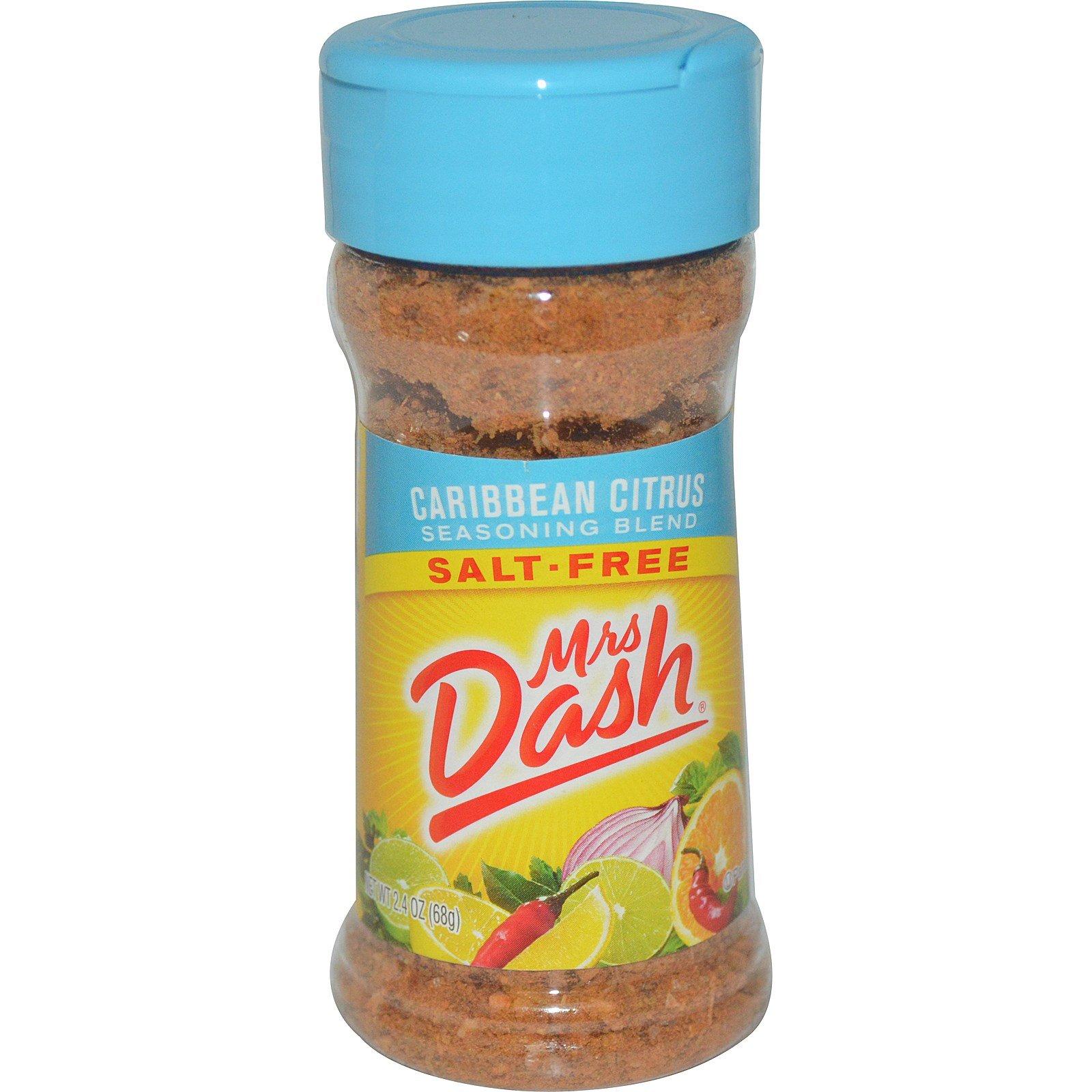 Mrs. Dash, Seasoning Blend, Caribbean Citrus, 2.4 Ounce