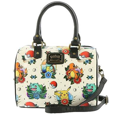 d1e6444e3ae6 Pokemon Original Starters Faux Leather Cross Body Bag Standard  Handbags   Amazon.com