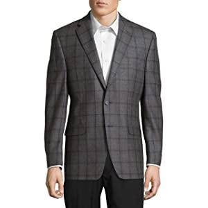 [ラルフローレン] メンズ ジャケット&ブルゾン Wool Check Suit Jacket [並行輸入品]