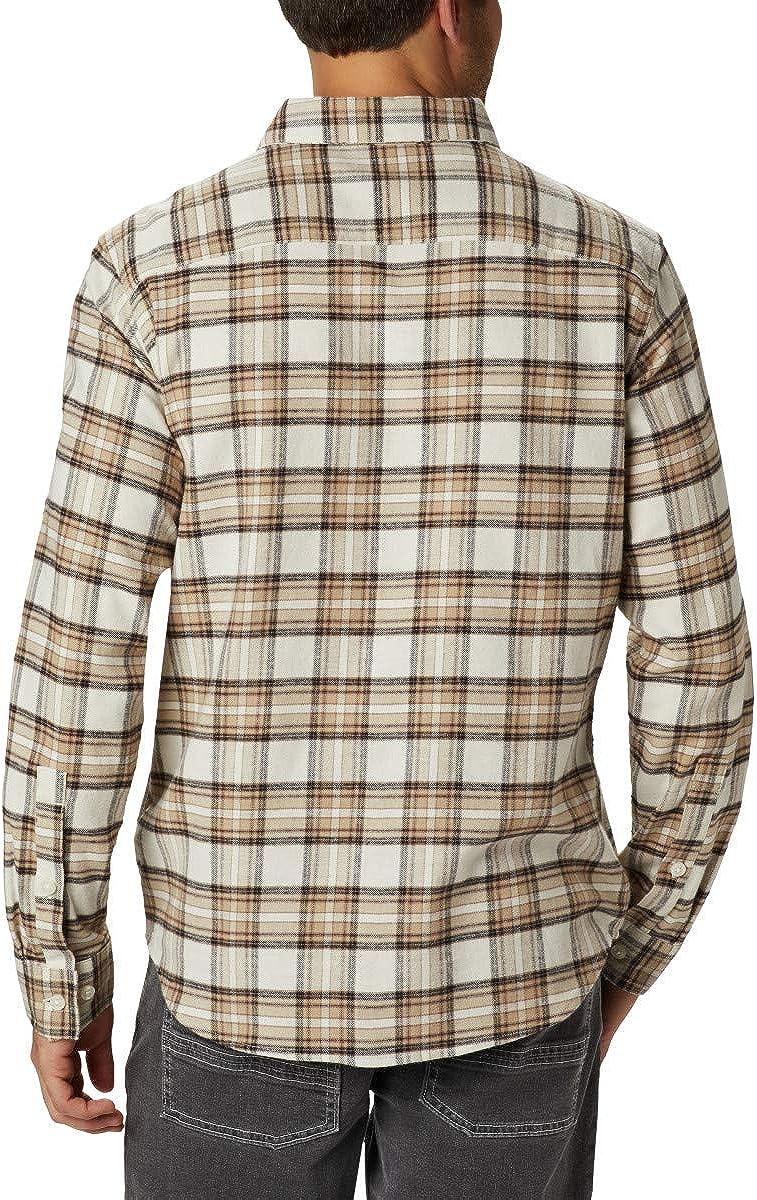 Columbia Mens Cornell Woods Flannel Long Sleeve Shirt