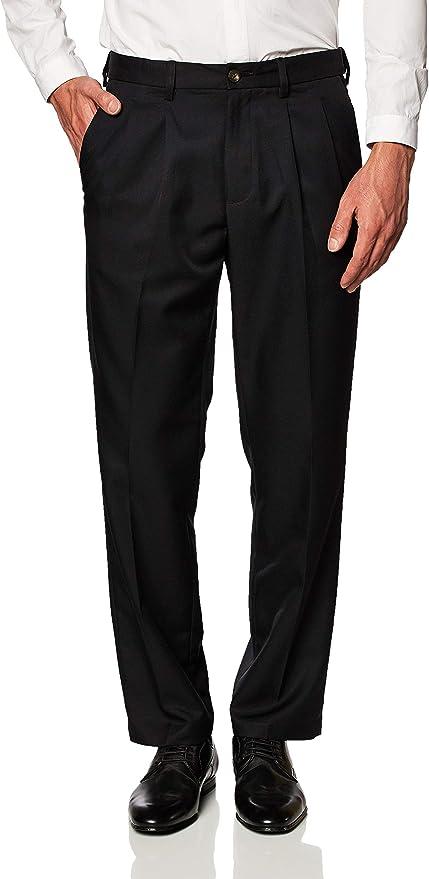 Amazon Essentials Classic-Fit Pleated Dress Pants