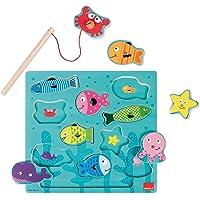 Goula Puzzle pesca magneticos para niños de 2 años