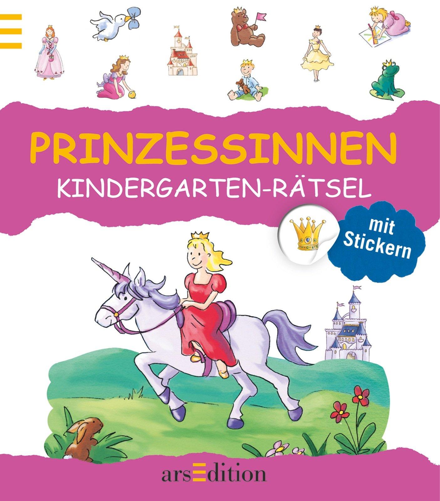 Kindergarten-Rätsel Prinzessinnen