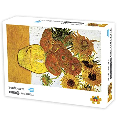 1000 Pieces Jigsaw Puzzles for Adults, Sunflower Puzzles by Vincent Van Gogh, Educational Toys for 14 Years Old Children and Kids: Toys & Games [5Bkhe1105740]