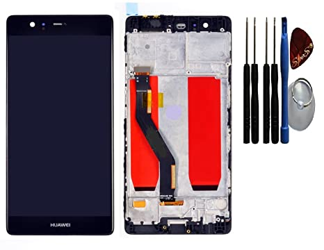 Huawei p plus display lcd touch screen digitizer schermo tattile