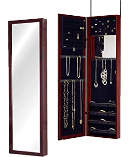 Elegant Jewelry Box Wall Mounted Cabinet