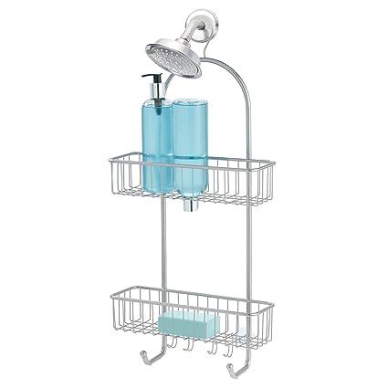 f9277c9e389cb Amazon.com: InterDesign Classico Extra Large Shower Caddy – Bathroom ...