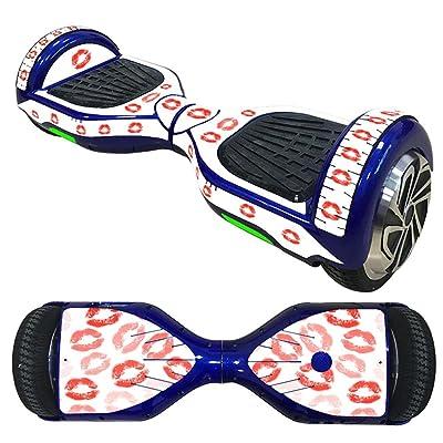 XZX Autocollant de peau pour l'individu de 6.5 pouces équilibrant le scooter électrique de 2 roues de roues
