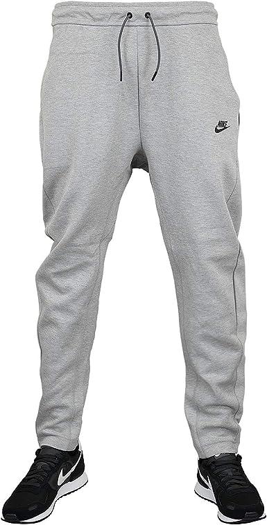 Brutal grande Superposición  Nike Tech Fleece Pantalon de jogging - Gris - X-Large: Amazon.fr: Vêtements  et accessoires