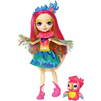 Enchantimals-FJJ21 Muñeca Peeki Parrot, multicolor (Mattel FJJ21)