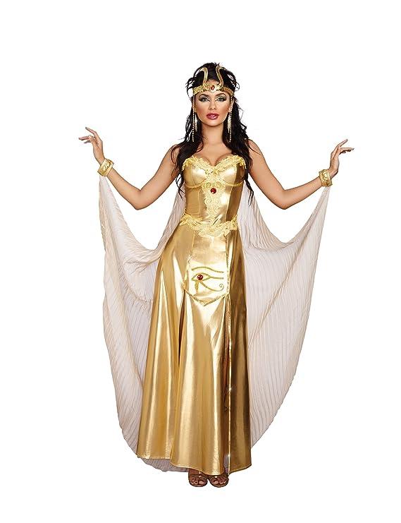 amazoncom dreamgirl womens goddess of egypt costume clothing