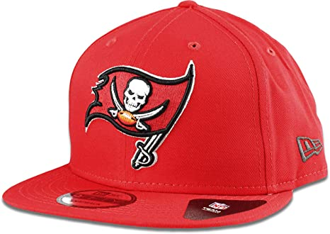 Image Unavailable. Image not available for. Color  New Era Tampa Bay  Buccaneers Hat NFL Buccaneer Red 9FIFTY Snapback Adjustable Cap Adult One  Size 103344642
