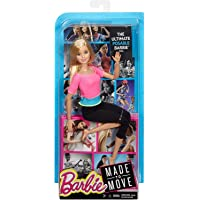 Barbie Made to Move Blonde Pink Top Doll