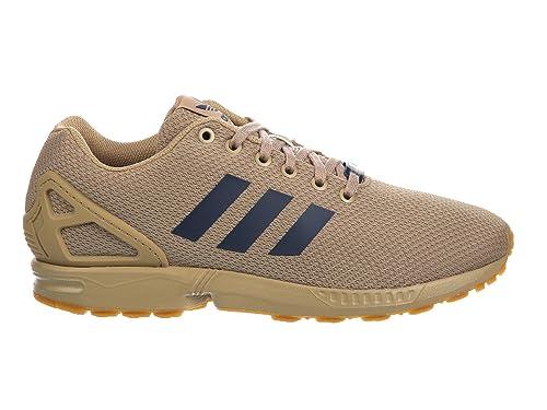 the latest 21e7d bd9e8 Adidas Men s Originals ZX Flux Hemp Night Indigo Gum Nylon Running Shoes 14  M