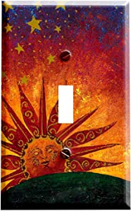 Celestial Sunrise Switchplate - Switch Plate Cover