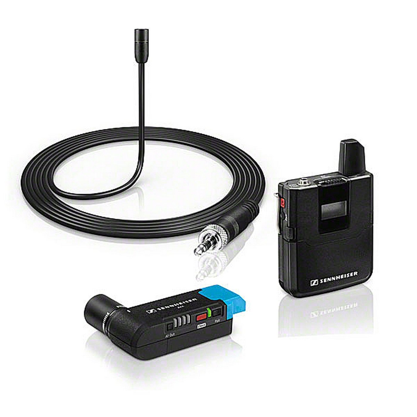 Sennheiser AVX-ME2 SET-4-US | Camera Mountable ME2 Lavalier Digital Wireless Set by Sennheiser