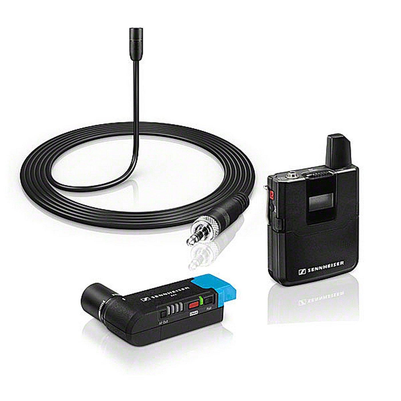 Sennheiser AVX-ME2 SET-4-US | Camera Mountable ME2 Lavalier Digital Wireless Set