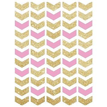 SODIAL (R) 3 x 5ft fotografía fondos parte rosa con oro flechas ...