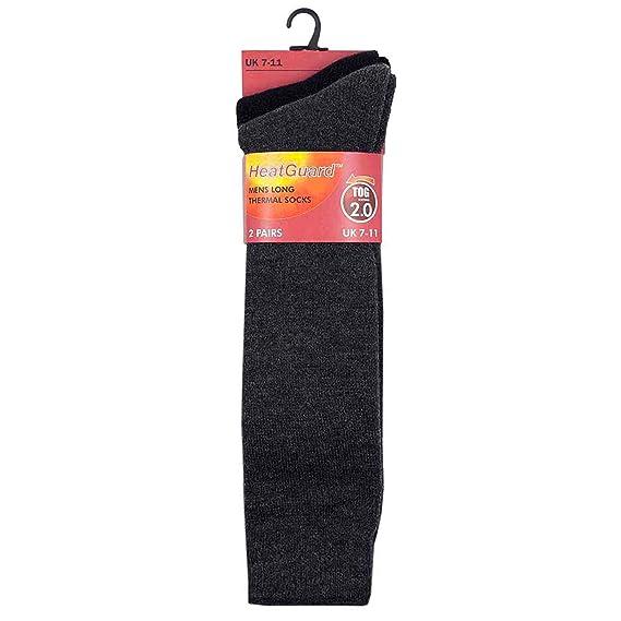 HeatGuard Calcetines térmicos para botas-Pack de 2pares 7-11EU 40-46 -