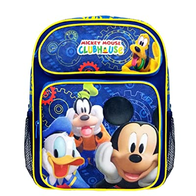 Mickey Mouse Club House Small Toddler Backpack 40246 | Kids' Backpacks