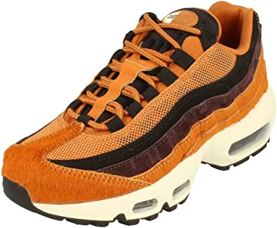 Nike Air Max 95 LX Womens Running Trainers AA1103 Sneakers Shoes (UK 6 US 8.5 EU 40, Cider Black sail 200)