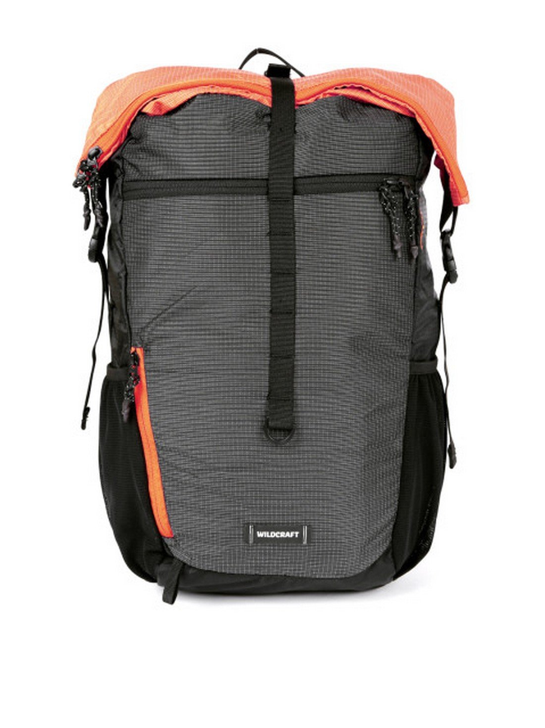 Wildcraft 22.9 cms Orng_Blk Casual Backpack (11532)