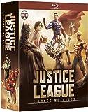 Justice League  - 5 Longs Métrages Animés : Le Paradoxe Flashpoint + Guerre + Le Trône de l'Atlantide + Dieux et Monstres + Vs Les Teen Titans - Coffret Blu-Ray