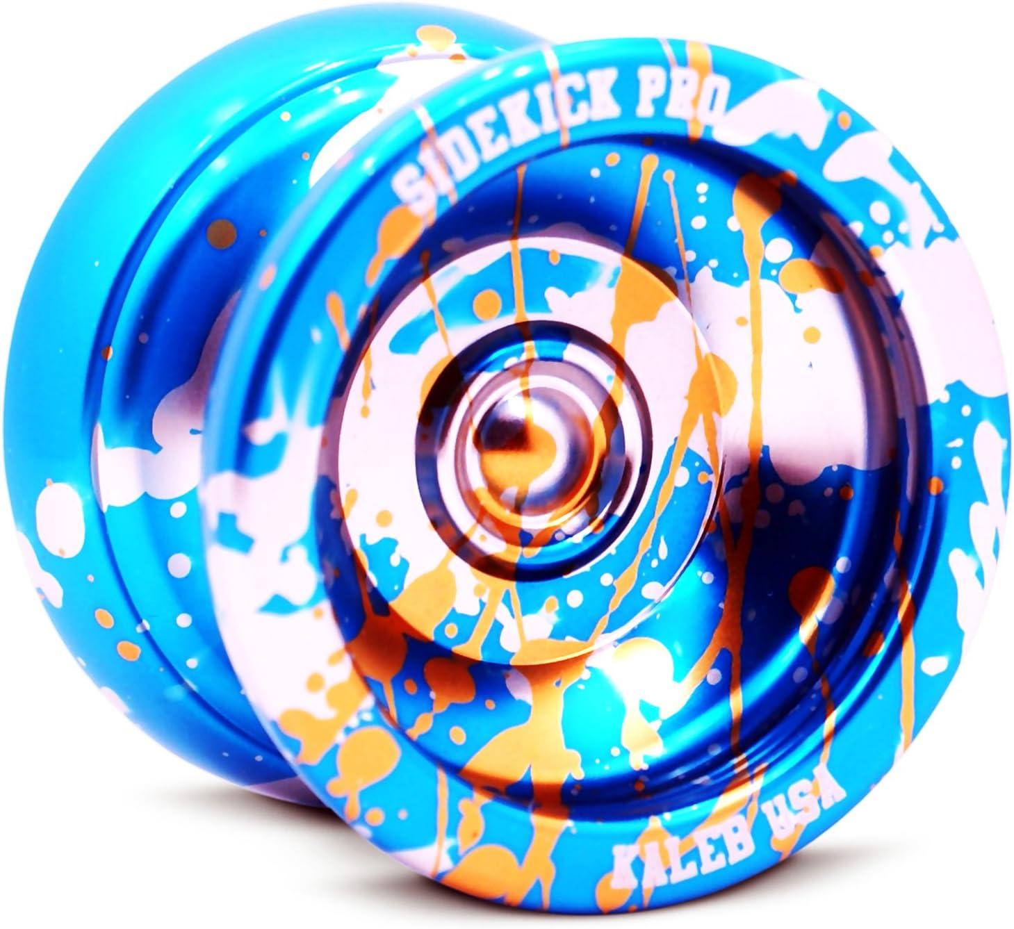 Pro Splashes Professional Aluminum UNresponsive YoYo Blue //Silver//Gold Extremely