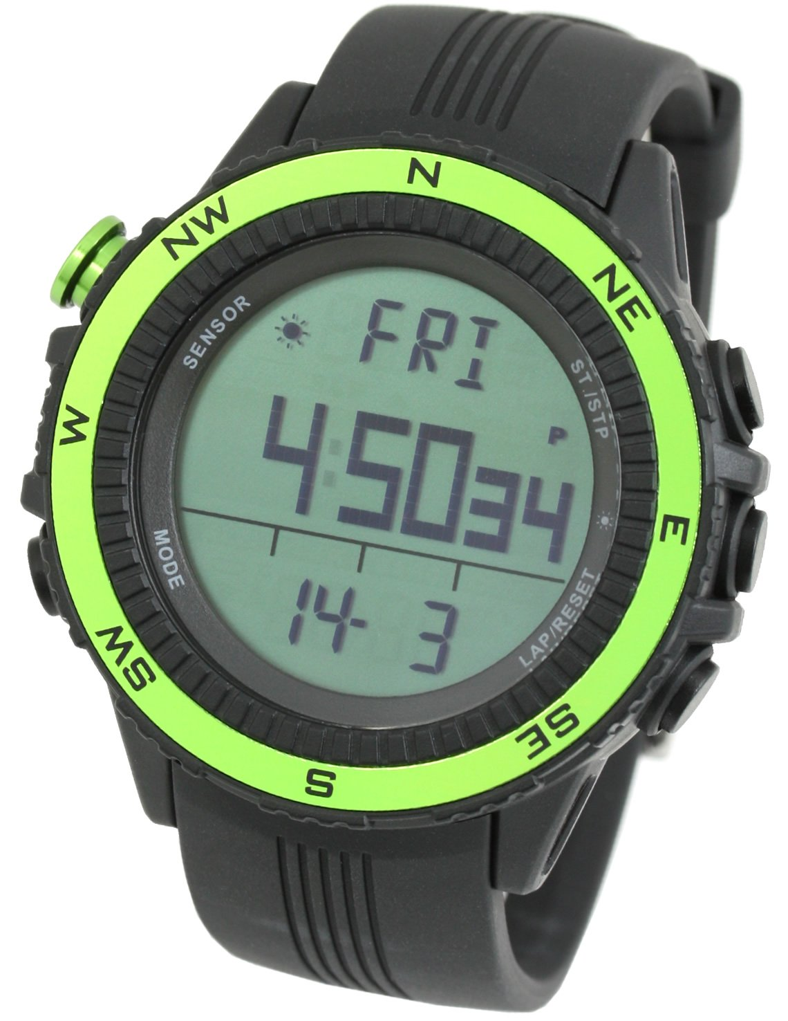 watches men digital clock north watch altitude edge index outdoor peak