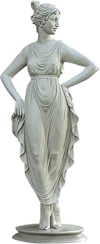 Design Toscano EU788931 Empress Josephine's Dancer Statue,Antique Stone