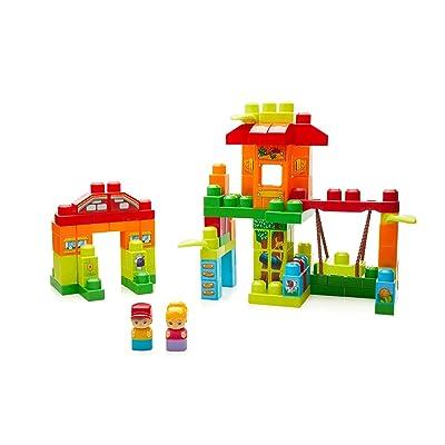 Mega Bloks Casita en el árbol, juguete de construcción para bebé +1 año (Mattel FFG24): Juguetes y juegos