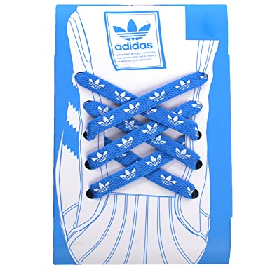 blue shoe laces adidas