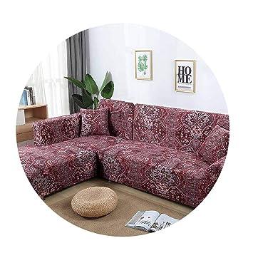 Fine Amazon Com Zfadds New L Shaped Sofa Cover Elastic Blue Sofa Pdpeps Interior Chair Design Pdpepsorg