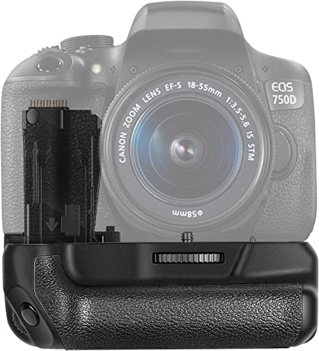 Neewer® NW-760D Battery Grip Reemplazo para BG-E18 Trabajar con LP ...