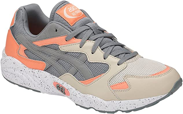 : ASICS Men's Gel Diablo Running Shoes Stone Grey
