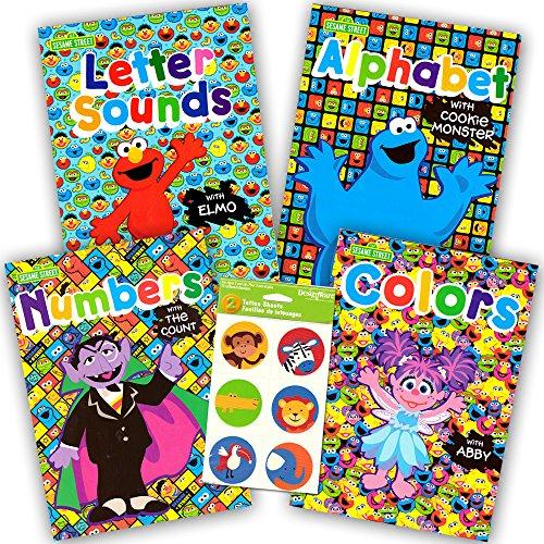 Sesame Street Workbooks Preschool Alphabet