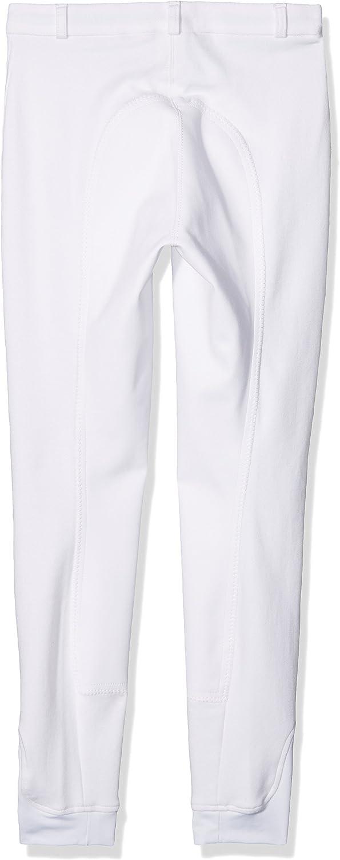 HKM Pantalon d/équitation pour Enfant de Penny Easy de Peau 3//4/Pantalon Taille Unique