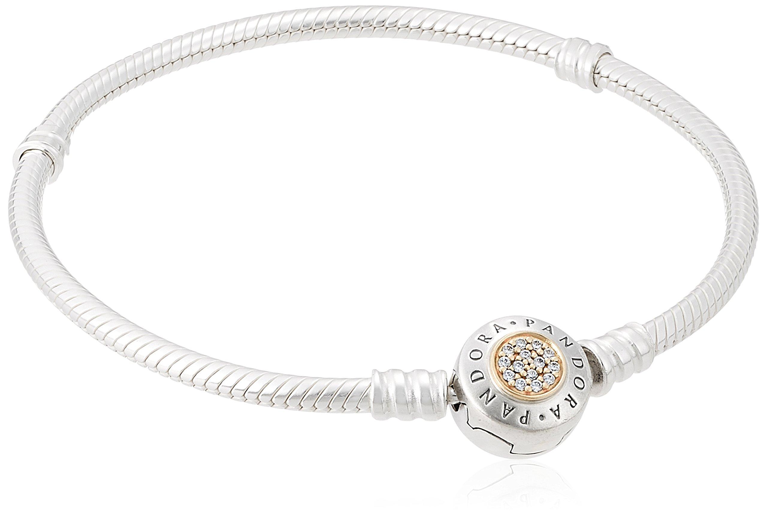 PANDORA-590741CZ-20-PANDORA-Signature-Two-tone-Bracelet-79-Inch