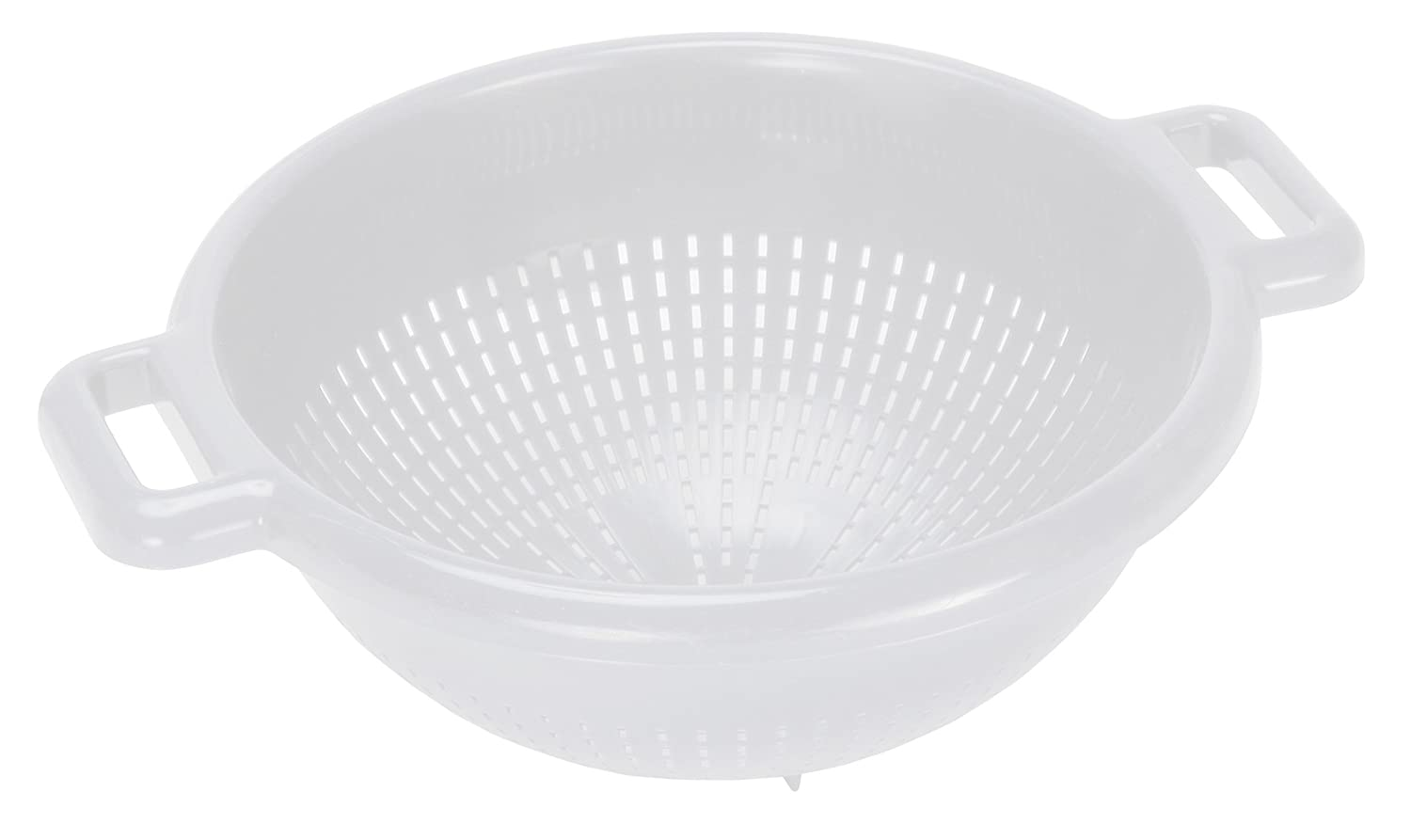 Curver 175218 Colander with Feet – White, 26 x 31 x 12 cm