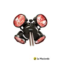 La Hacienda Heatmaster U3R20 2.0KW Popular Umbrella Mount Infrared Heater
