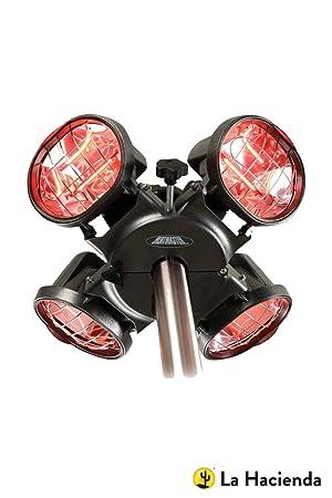 Heatmaster U3R20 2, 0kw Carcasa soporte de paraguas por infrarrojos para calentador de agua