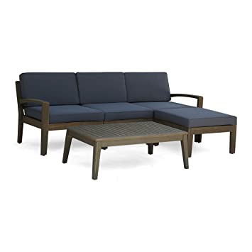 Fine Amazon Com Christopher Knight Home Grenada Sectional Sofa Unemploymentrelief Wooden Chair Designs For Living Room Unemploymentrelieforg