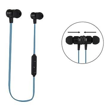 Bluetooth en auriculares in-ear, auriculares con micrófono, Botones Element auricular y cierre